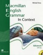 Cover-Bild zu Vince, Michael: Advanced: Macmillan English Grammar In Context Advanced Pack with Key - Macmillan English Grammar in Context