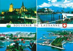 Cover-Bild zu 10230; AK: Lausanne VD Souvenir