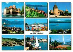 Cover-Bild zu 9972; AK: Souvenir Lac Léman No.9972 'Hit'