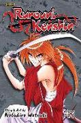 Cover-Bild zu Watsuki, Nobuhiro: Rurouni Kenshin (3-in-1 Edition), Vol. 1