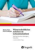Cover-Bild zu Wissenschaftliches Arbeiten im Lehramtsstudium von Roos, Markus