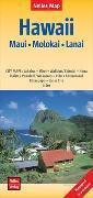 Cover-Bild zu Nelles Verlag (Hrsg.): Nelles Map Landkarte Hawaii : Maui, Molokai, Lanai. 1:150'000