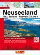 Cover-Bild zu Hallwag Kümmerly+Frey AG (Hrsg.): Neuseeland Strassenatlas. 1:0
