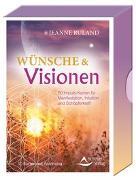 Cover-Bild zu Wünsche & Visionen 50 Impuls-Karten für Manifestation, Intuition und Schöpferkraft von Ruland, Jeanne