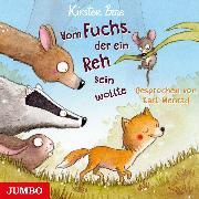 Cover-Bild zu Vom Fuchs, der ein Reh sein wollte (Audio Download) von Boie, Kirsten