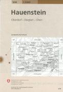 Cover-Bild zu Hauenstein. 1:25'000