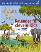 Cover-Bild zu Der Kinder Brockhaus Kalender für clevere Kids Kalender 2021 von Ahlgrimm, Achim