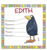 Cover-Bild zu Namenskalender Edith von Mayr, Johann (Illustr.)