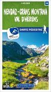Cover-Bild zu Hallwag Kümmerly+Frey AG (Hrsg.): Nendaz - Crans Montana Val d'Hérens 40 Wanderkarte 1:40 000 matt laminiert. 1:40'000