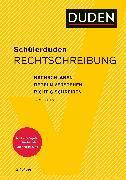 Cover-Bild zu Schülerduden Rechtschreibung und Wortkunde (gebunden) von Dudenredaktion (Hrsg.)
