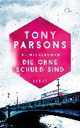 Cover-Bild zu Die ohne Schuld sind (eBook) von Parsons, Tony