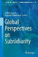 Cover-Bild zu Global Perspectives on Subsidiarity von Evans, Michelle (Hrsg.)