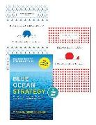 """Cover-Bild zu Kim, W. Chan: Blue Ocean Strategy with Harvard Business Review Classic Articles """"Blue Ocean Leadership"""" and """"Red Ocean Traps"""" (3 Books) (eBook)"""