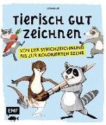 Cover-Bild zu Tierisch gut zeichnen von Barlage, Lee