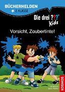 Cover-Bild zu Die drei ??? Kids, Bücherhelden 2. Klasse, Vorsicht, Zaubertinte! von Blanck, Ulf
