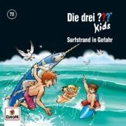 Cover-Bild zu Die drei ??? Kids 73: Surfstrand in Gefahr von Blank, Ulf
