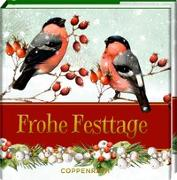 Cover-Bild zu Frohe Festtage von Bastin, Marjolein (Illustr.)