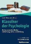 Cover-Bild zu Lück, Helmut E. (Beitr.): Klassiker der Psychologie (eBook)