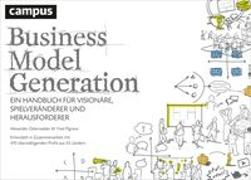 Cover-Bild zu Business Model Generation von Osterwalder, Alexander