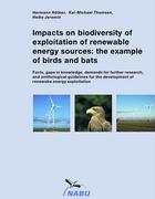 Cover-Bild zu Impacts on biodiversity of exploitation of renewable energy sources: the example of birds and bats von Hötker, Hermann