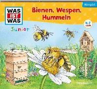 Cover-Bild zu Daniela Wakonigg: WAS IST WAS Junior Hörspiel. Bienen, Wespen, Hummeln