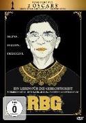 Cover-Bild zu RBG - Ein Leben für die Gerechtigkeit von Betsy West (Reg.)