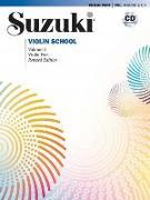 Cover-Bild zu Suzuki Violin School 3 Revised Edition mit CD von Suzuki, Shinichi