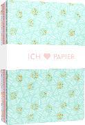 Cover-Bild zu Ich liebe Papier - 3 Notizhefte DIN A5