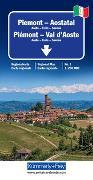 Cover-Bild zu Piemont - Aostatal Regionalkarte Italien Nr. 1. 1:200'000