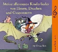 Cover-Bild zu Meine allerersten Kinderlieder von Hexen, Drachen und Gespenstern