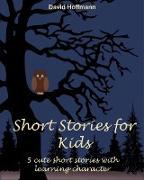 Cover-Bild zu Hoffmann, David: Short stories for kids (eBook)