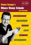 Cover-Bild zu Dieter Kropp's Blues Harp Schule von Kropp, Dieter
