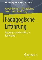 Cover-Bild zu Brinkmann, Malte (Hrsg.): Pädagogische Erfahrung
