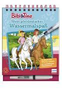 Cover-Bild zu Bibi & Tina - Mein pferdestarker Wassermalspaß (Magic Water Colouring)
