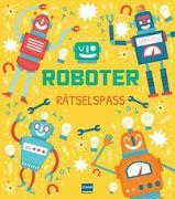 Cover-Bild zu Roboter Rätselspaß von Worms, Penny