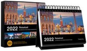 Cover-Bild zu Tischkalender Reiselust 2022 von KUNTH Verlag (Hrsg.)