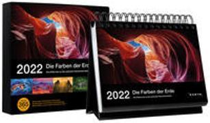 Cover-Bild zu Tischkalender Die Farben der Erde 2022 von KUNTH Verlag (Hrsg.)
