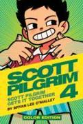 Cover-Bild zu Bryan Lee O'Malley: Scott Pilgrim Color Hardcover Volume 4: Scott Pilgrim Gets it Together