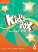 Cover-Bild zu Kid's Box Level 4 Class Audio CDs (3) von Nixon, Caroline