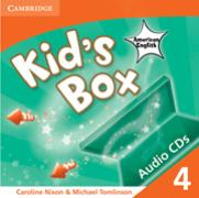Cover-Bild zu Kid's Box American English Level 4 von Nixon, Caroline