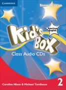 Cover-Bild zu Kid's Box American English Level 2 Class Audio CDs (4) von Nixon, Caroline