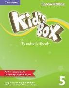 Cover-Bild zu Kid's Box Level 5 Teacher's Book von Frino, Lucy