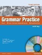 Cover-Bild zu Grammar Practice Pre-intermediate Book and CD-ROM (with Key) von Elsworth, Steve