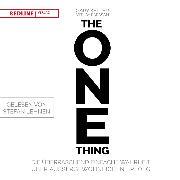 Cover-Bild zu The One Thing (Audio Download) von Papasan, Jay