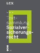 Cover-Bild zu Textsammlung Sozialversicherungsrecht (eBook) von Keller, Stefan