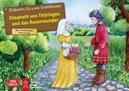 Cover-Bild zu Elisabeth von Thüringen und das Rosenwunder. Kamishibai Bildkartenset von Fastenmeier, Catharina