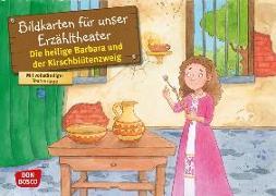 Cover-Bild zu Die heilige Barbara und der Kirschblütenzweig. Kamishibai Bildkartenset von Fastenmeier, Catharina