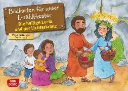 Cover-Bild zu Die heilige Lucia und der Lichterkranz. Kamishibai Bildkartenset von Fastenmeier, Catharina
