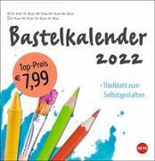 Cover-Bild zu Bastelkalender weiß groß 2022 von Heye (Hrsg.)