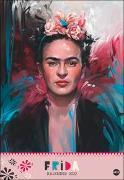 Cover-Bild zu Frida Posterkalender 2022 von Heye (Hrsg.)